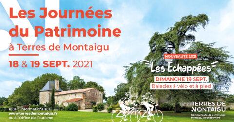 Visuel-Journées Européennes du Patrimoine 2021 Terres de Montaigu